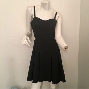NWT Elizabeth & James black Peony dress size 8